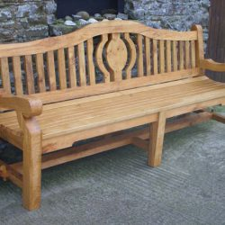 Oak Bench - Kilkenny College commission 2